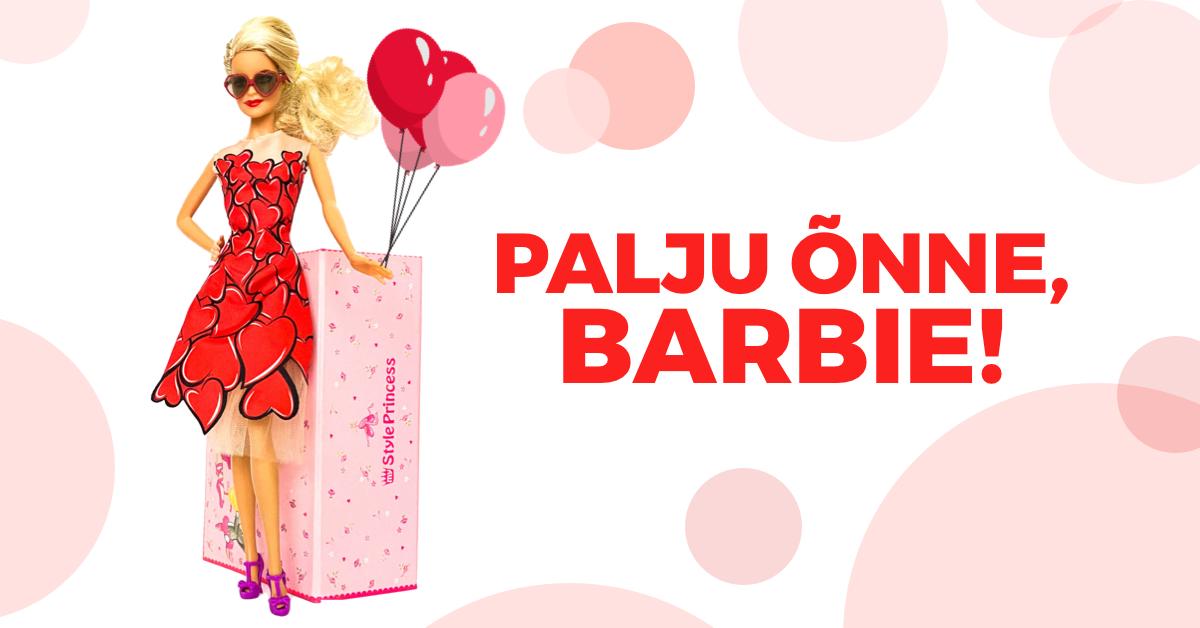 Palju Õnne, Barbie!